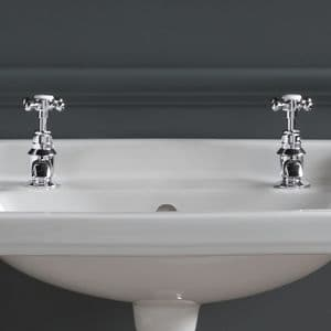 Healey & Lord Classic Collection Deck-Mounted Basin Taps (Pair)